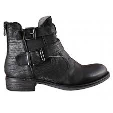 s boots flat giardini royal leather s flat ankle boots black