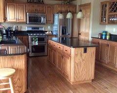 35 best oak trim images on pinterest kitchen ideas honey oak