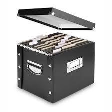 Desktop Filing Cabinet Ideastream Collapsible Desktop File Box Walmart Com
