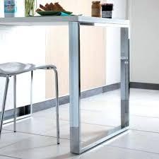 cuisine sur pied pied de cuisine pied rectangulaire en acier pied de table cuisine