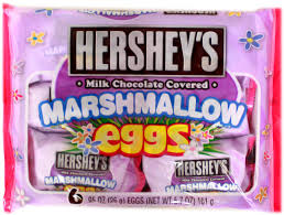 easter marshmallow eggs hershey s milk chocolate covered marshmallow eggs 6ct