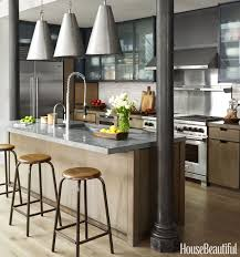 this industrial style kitchen masters mixed materials industrial