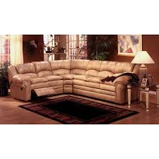 omnia leather riviera leather reclining sectional u0026 reviews wayfair