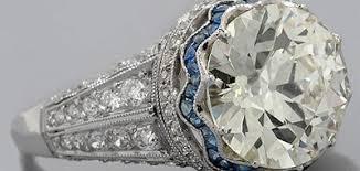 vintage estate engagement rings deantiques antique style engagement ring setting