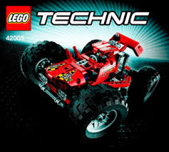 monster truck 42005 lego technic building instructions lego