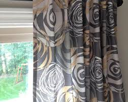 Chocolate Brown Valances For Windows Brown Valance Etsy