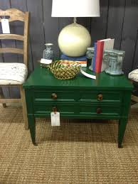 Green Accent Table Queen Of Hearts Color Trends For 2013 From The Queen