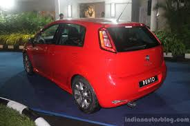 2014 Fiat Punto Launched With Amt In Indonesia