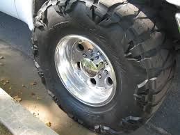 Ford Truck Mud Tiress - largest tire on a stock f250 diesel forum thedieselstop com