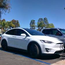 we just got this new tesla model x p90d in for front clear bra