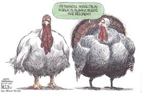 political irony thanksgiving political humor