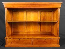 cherry bookcase u2014 pasadena woodworks