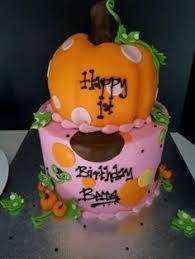 bleu a thanksgiving themed birthday cake decorating