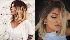 Frisur Blond 2017 Bob by Faszinierende Ombre Bob Frisuren Zu Versuchen Neue Frisur Stil