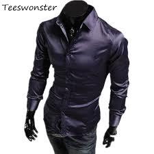 aliexpress com buy men dress shirt brand slim fit camisa social