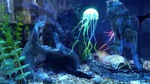 Jellyfish Home Decor by Fake Jellyfish Made Of Silicon In My Aquarium Youtube