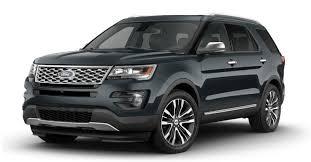 2017 ford explorer exterior color options