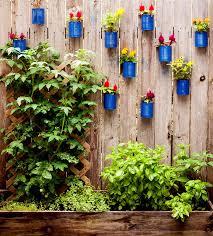 How To Decorate A Tin Backyard Tin Can Fence Garden