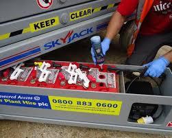 scissor lift battery u0026 aerial platform battery replacement san diego