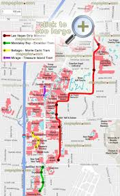 Monte Carlo Map Vegas Monorail Map Monorail Map Las Vegas United States Of America
