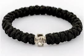 black prayer bracelet images Handmade orthodox black prayer rope bracelet exy shop jpg