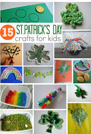 15 easy st patrick u0027s day crafts for kids no time for flash cards
