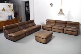 Sectional Leather Sofas With Recliners by Sofas Center Crate And Barreleather Sleeper Sofa Davis