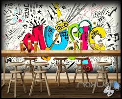 3d music earphone keyboard wall murals paper art print decals 3d music earphone keyboard wall murals paper art print decals decor wallpaper idcwp ty
