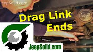 jeep wrangler sport logo drag link end replacement jeep wrangler drag link ends youtube