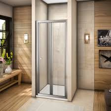900 Bifold Shower Door by Aqua Spa Deluxe 900mm Bi Fold Shower Door Chrome Frame Shower
