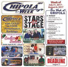 chipola this week app