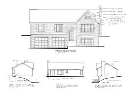 floor plans and elevations of houses the portsmouth 6283 3 bedrooms and 2 5 baths the house designers