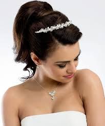 Hochsteckfrisurenen Hochzeit Mit Perlen by Hochzeit Perlen Diadem Haarschmuck Diademe