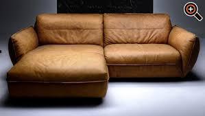 ledercouch design modernes sofa designer fürs wohnzimmer aus leder schwarz