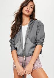 er jackets women s satin er jackets missguided