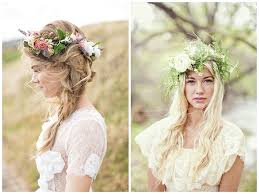 wedding hair flowers flower crowns wedding hair inspiration for flowers