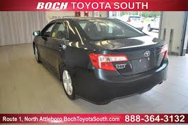 boch toyota south used cars used one owner 2012 toyota camry 4dr sdn i4 auto se
