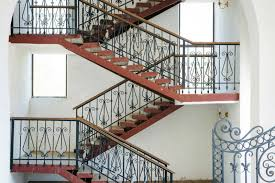 Indoor Banisters And Railings 35 Wrought Iron Stair Railing Ideas Photo Gallery