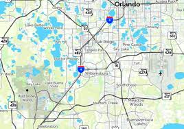Map Of Kissimmee Osceola Heritage Park And Silver Spurs Rodeo