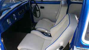 blue volkswagen beetle 1970 volkswagen 1300 beetle blue white tax exempt restored