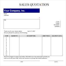 Quotation Template Excel Quotation Template 42 Documents In Pdf Word Excel
