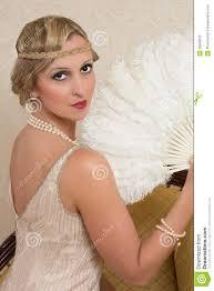 flapper dress and headband royalty free stock photo image 26569015