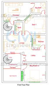 home design for 10 marla 5 marla house design for 2 separate families civil engineers pk