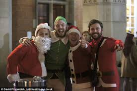 Christmas Parties In Newcastle - christmas party revellers hit towns across the country daily