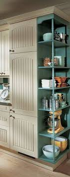 kitchen bookshelf ideas brilliant kitchen cabinet end shelves and best 20 kitchen