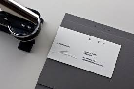 embossed stationery 6 benefits of embossed business card printing