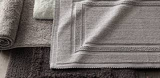 Cotton Bathroom Rugs Cotton Bath Rugs Restoration Hardware Bathroom Ideas