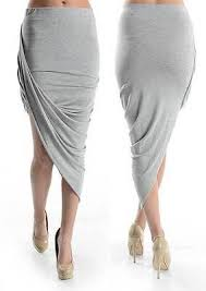 Draped Asymmetrical Maxi Skirt Asymmetrical Skirt Collection On Ebay