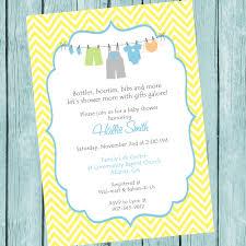 printable clothesline baby shower invitation printable baby
