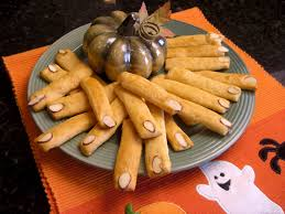 halloween party food ideas and recipes spooky breadstick witch